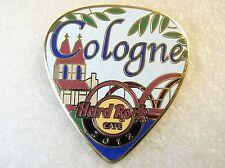 COLOGNE,Hard Rock Cafe Pin,Guitar Pick PostCard Series
