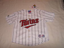 MLB Minnesota Twins Kids Home Baseball Majestic Jersey Sz 24M NWT