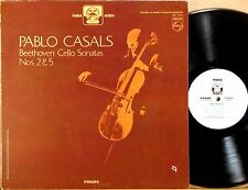 PHILIPS WORLD SERIES Beethoven PABLO CASALS Cello Sonatas #2 & #5 PHC-9099