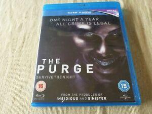 The Purge (Blu-Ray, 2013) Region B Ethan Hawke, Lena Headey