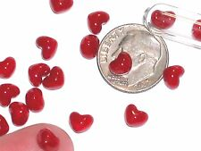 5pc miniature dollhouse bubble gum red Hearts 3d Candy valentines day mini food