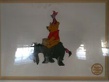 WALT DISNEY WINNIE THE POOH & THE BLUSTERY DAY LE SERIGRAPH CEL 1968