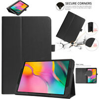 For Samsung Galaxy Tab A 10.1 2019 T510 T515 Folio Leather Flip Stand Case Cover