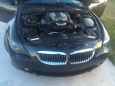 BMW 6-Series 650i  FRONT BUMPER  GRILLE OEM  2004 2005 2006 2007 2008 2009