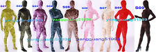 New 9 Color Velours Suit Catsuit Costumes Unisex Sexy Velour Full Body Suit F210