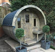 Outdoor Barrel Sauna Spa
