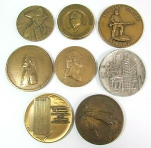 8 Medallic Art Co & US Mint Medal Award Mixed Lot Collection
