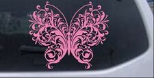 Swirl Butterfly Car Or Truck Window Laptop Decal Sticker Pink 8x67
