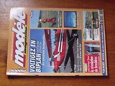 $$a1 Revue modele magazine N°616 PLan encarte Weedseed  Tiger Bipe  Aerofly pro