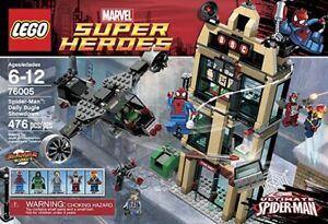 Lego Marvel Super Heroes 76005 Daily Bugle Showdown Spider-man Nova Dr Doom