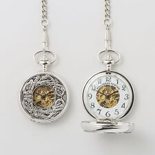 Mechanical Book of Kells Design Pocket Watch by Mullingar Pewter