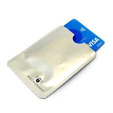 3x RFID senza contatto blocco sicurezza carta di Credito Caso Holder manica Shield