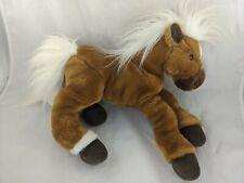 "Animal Alley Brown Horse Plush 13"" Pony Stuffed Animal Toy"