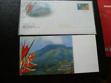 FRANCE - 1 enveloppe 1 document 2002(montagne pelee) (cy39) french