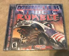 Monster Truck Rumble PC Simulation Game NEW factory Sealed