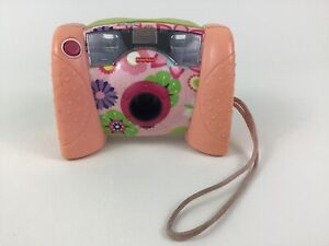 Kid Tough Digital Camera Toy Flowers Fisher Price 2006 with Batteries