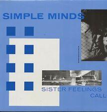 Simple Minds Sister Feelings Call Us Lp