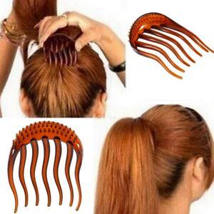 Frisurenhilfe Haarkamm Steckkamm Hair Bumpits Bouffant Styling Tool Topsy Tail