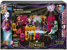 Monster High 13 Wishes Party Lounge Playset and Spectra Vondergeist Doll Y7720