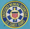 US COAST GUARD USCG  EMT EMERGENCY MEDICAL TECHNICIAN PATCH PARAMEDIC