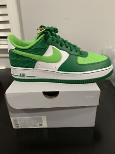 Mens Nike Air Force 1 St Patricks Day Size 10.5! DS! Og All!