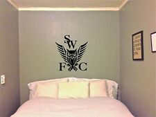 Sheffield Wednesday SWFC Wall Art Boys Room Sticker Vinyl