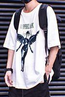 Niepce Streetwear T-shirt Urban Short Sleeves Tee Mens Angel Shirt