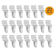 Stainless Steel Vinyl Siding Hangers No-Hole Hooks Hanging Decorations 20 Pack