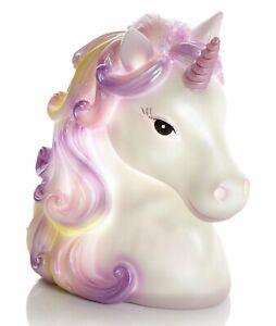 Colourful Childrens Girls Unicorn Night Light Lamp 15cm Christmas Gift Idea