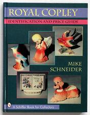 Vintage ROYAL COPLEY Ceramic POTTERY Reference Book / HEAD VASE Figurine LAMP