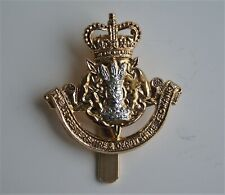 British Army Leicestershire & Derbyshire Yeomanry Anodised Cap Badge