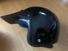 New-Old-Stock ANVIL Open-Face Helmet Size Large Black