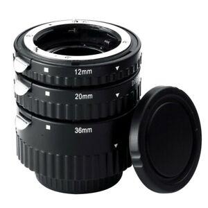 Meike MK-N-AF-B Auto Focus AF Macro Extension Tube Set for Nikon DSLR Camera