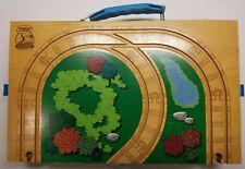 Thomas & Friends Wooden Railway Train Portable Storage Box w/ Track Play and Go