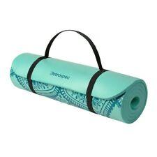 """Yoga Mat Non Slip Mat Fitness Gymnastics Mats 1/2 """" thick w / Nylon strap"""