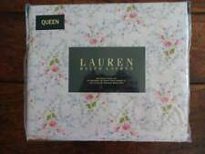 RALPH LAUREN Shabby COTTAGE FLORAL Pink Blue Chic QUEEN XDP SHEET SET 4PC