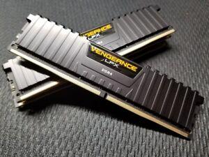 Corsair Vengeance Memory 32GB (four x 8GB) cmk16gx4m2b3000c15 M 15-17-17-3