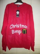 Boohoo Maternity CHRISTMAS BUMP Christmas Jumper *Size S/M - 8-10* BNWT