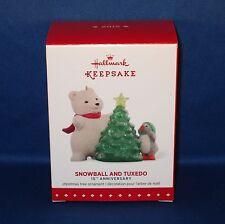 Hallmark - 2015 Snowball & Tuxedo 15th Anniversary - Keepsake Christmas Ornament