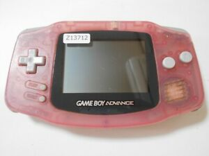 Z13712 Nintendo Gameboy Advance console Milky Pink GBA Japan Express