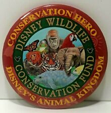 Walt Disney World Wdw Animal Kingdom Wildlife Conservation Hero Fund Button