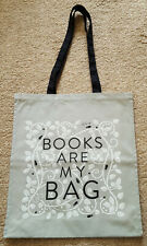 Books Are My Bag cotton tote bag, designed by Coralie Bickford Smith