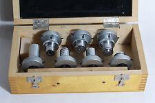 LOMO Microscope Polarizing Objectives 190 mm tube RMS thread Set in box