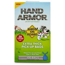 Bags on Board Hand Armour Extra Thick Dog Puppy Poo Poop Waste Pick Up 100 Bags