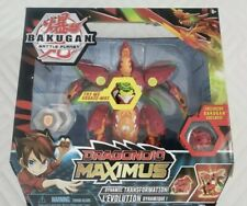 Bakugan Battle Planet Dragonoid Maximus Figure SEALED NEW toy exclusive ages 6+