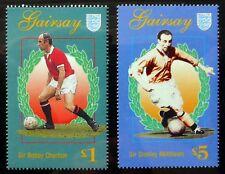Football £1 Bobby Charlton & £5 Stanley Matthews U/M NH540