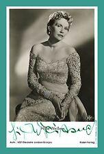 HILDE WEISSNER   Schauspielerin   Original-Autogramm auf Rüdel-Starpostkarte