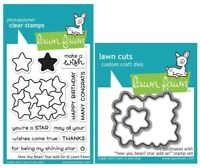 LF2033 Lawn Fawn How You Bean Christmas Cookie Add-On 4x6 Clear Stamp Set