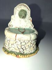 Santon Creche Fontaine 7 cm par 6,5 cm Carbonel Taille 2