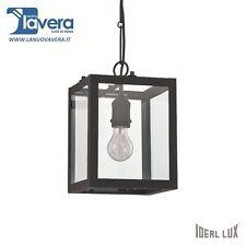 Lampadario Ideal Lux Igor Sp1 Nero codice 092850